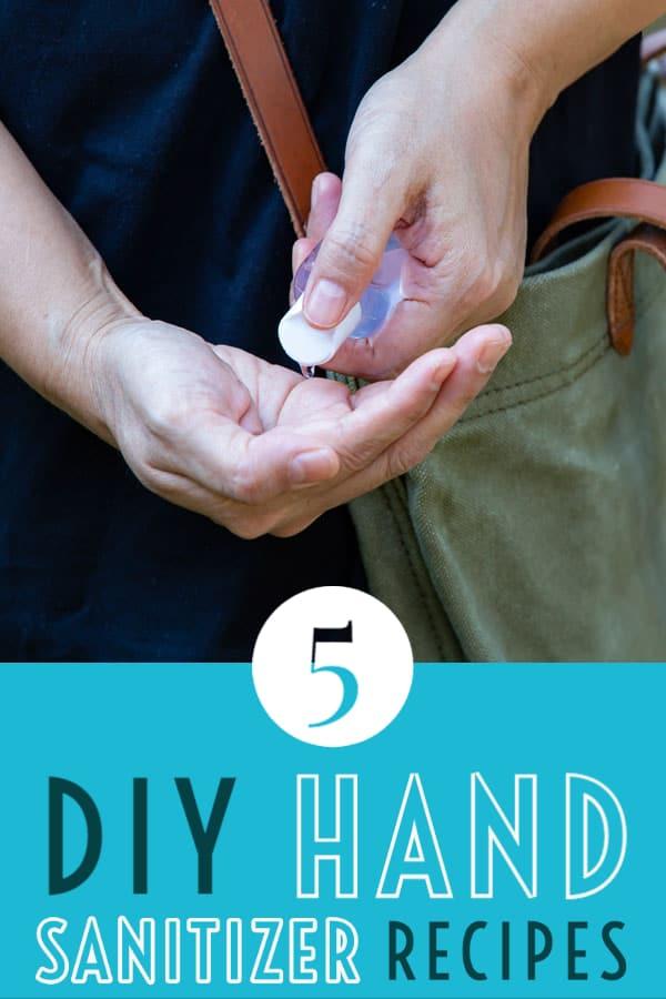 5 DIY hand sanitizer recipes