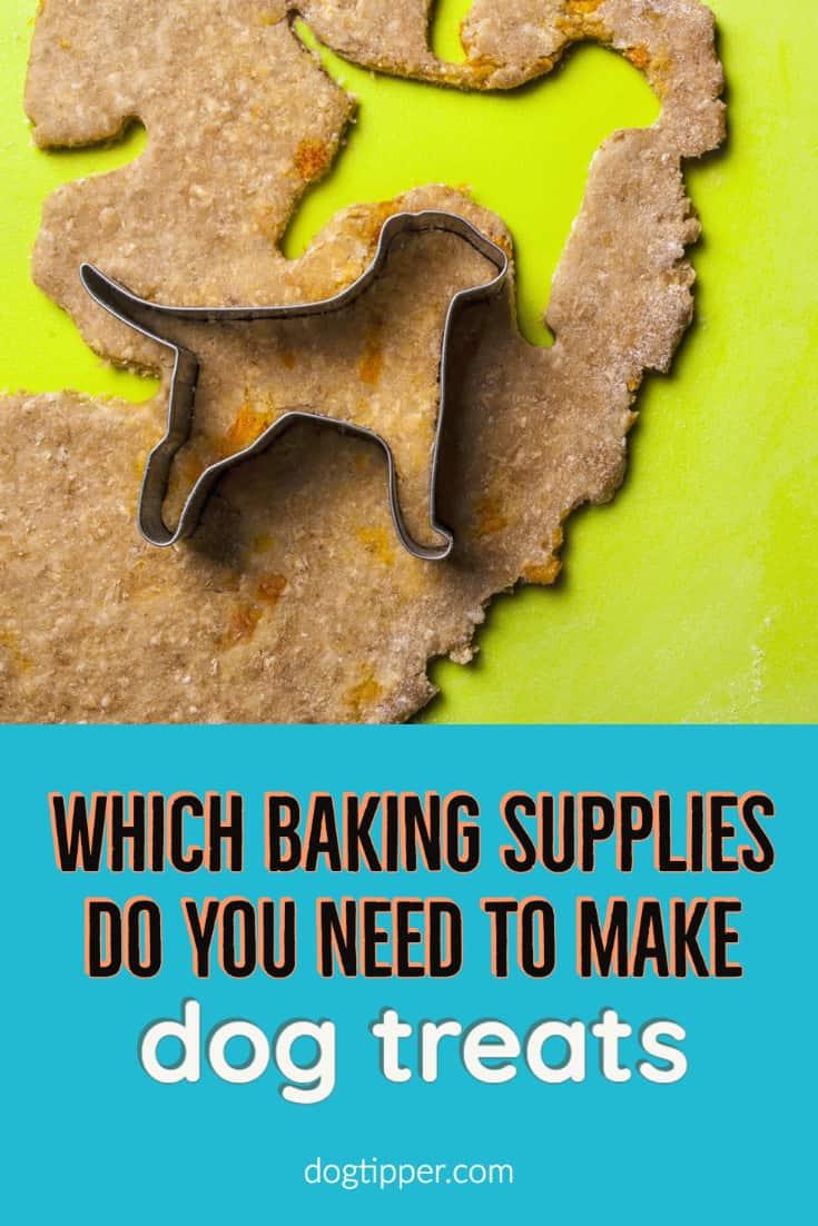baking supplies to make homemade dog treats