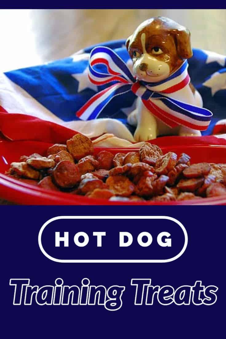 Easy Hot Dog Training Treats for Your Dog - Recipe
