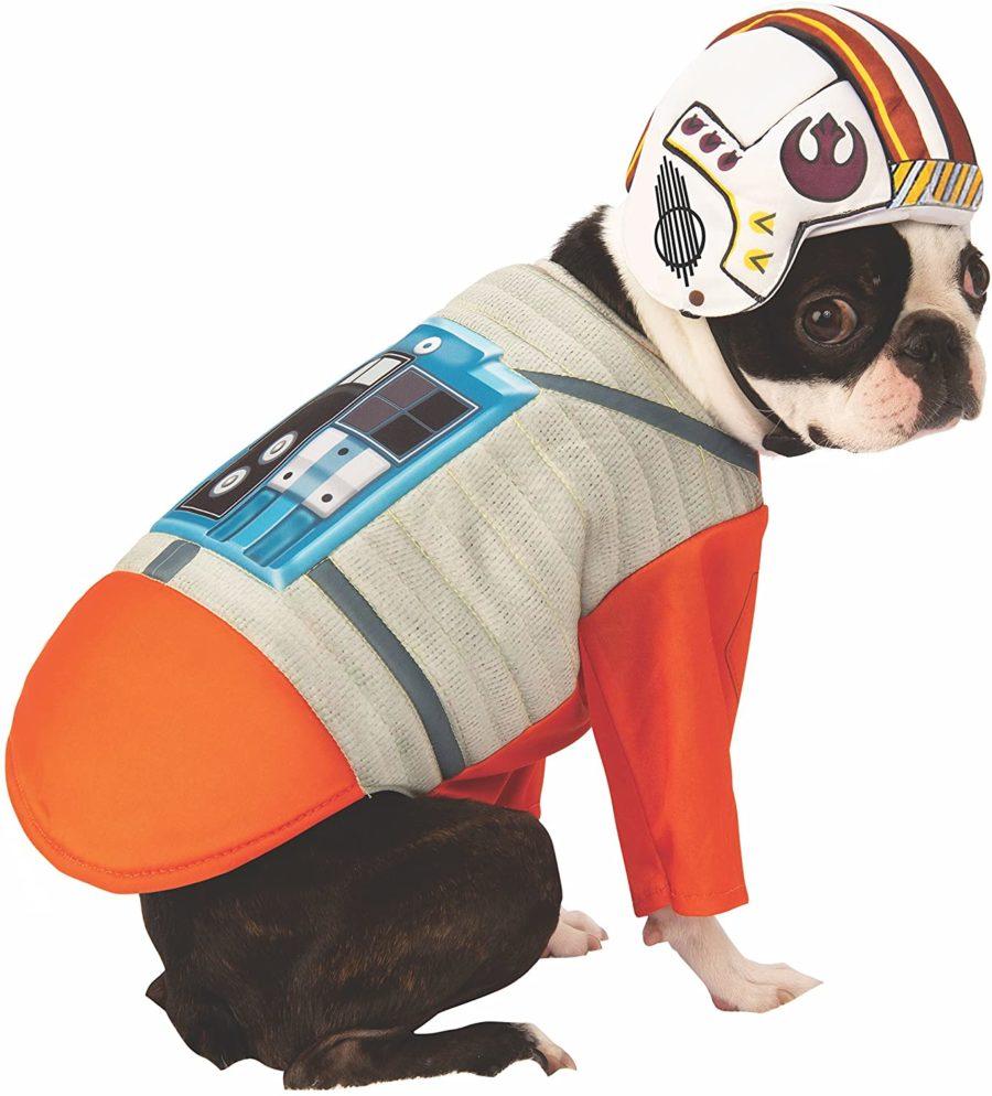 Star Wars X-Wing pilot dog costume