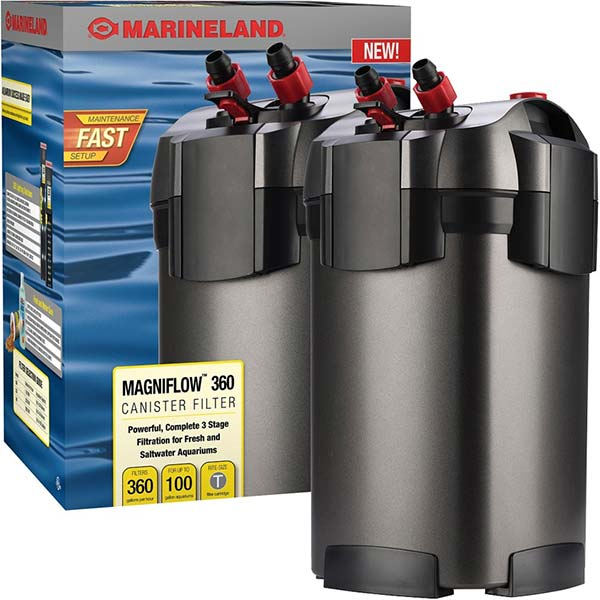 canister or external filter example