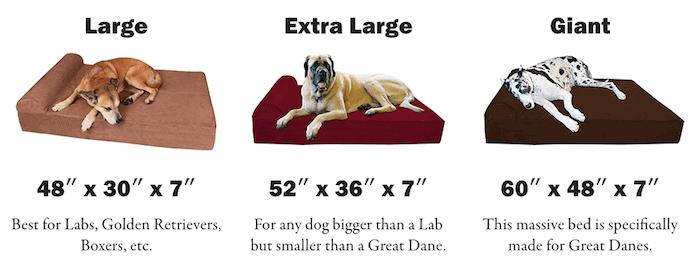 Big Barker sizes