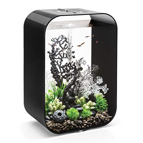 biOrb Life 60 Aquarium with MCR - 16 Gallon, Black