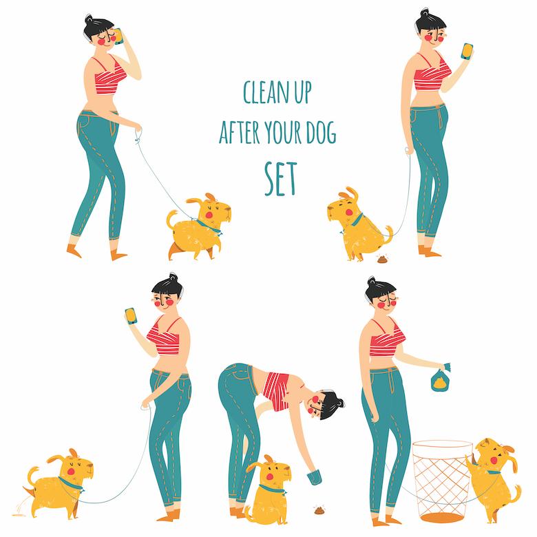 Dog Poop Etiquette