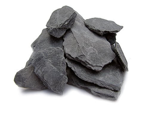 Natural Slate Stone -1 to 3 inch Rocks for Miniature or Fairy Garden, Aquarium, Model Railroad &...