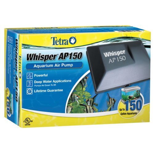 Tetra Whisper AP150 aquarium Air Pump, For Deep Water Applications
