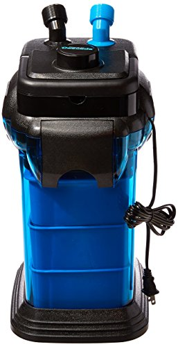 Penn Plax Cascade CCF3UL Canister Filter For Large Aquariums and Fish Tanks – Up To 100 Gallons,...