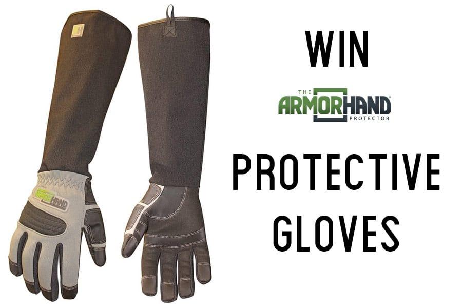 ArmOR pet gloves giveaway