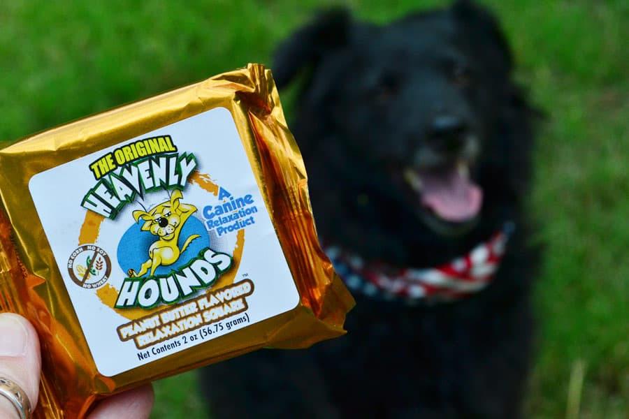 Heavenly Hounds package dog treats #sponsored