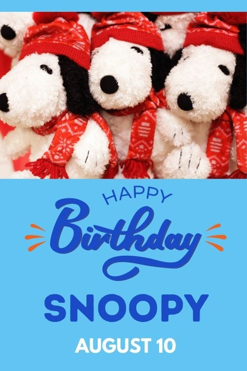 SNOOPY'S BIRTHDAY